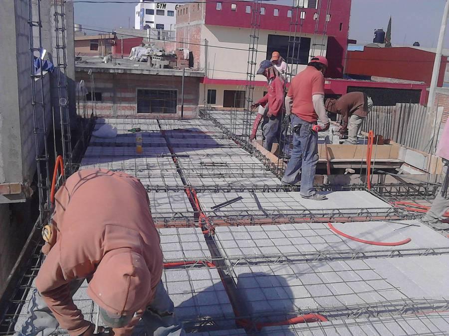 Foto malla de refuerzo de ibarra construcci n y for Malla de construccion