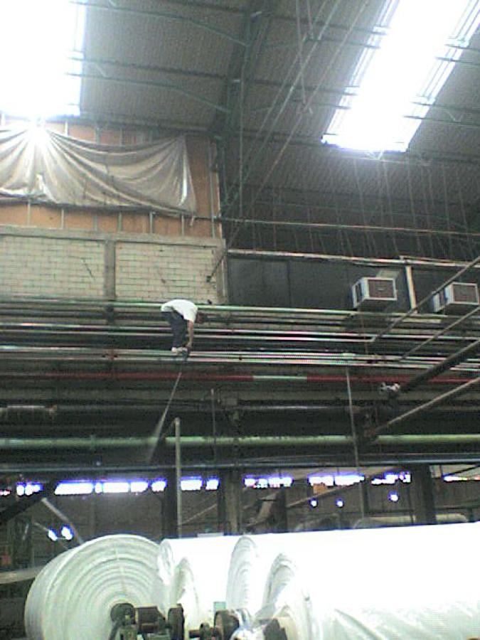 mantenimiento a fabrica textil