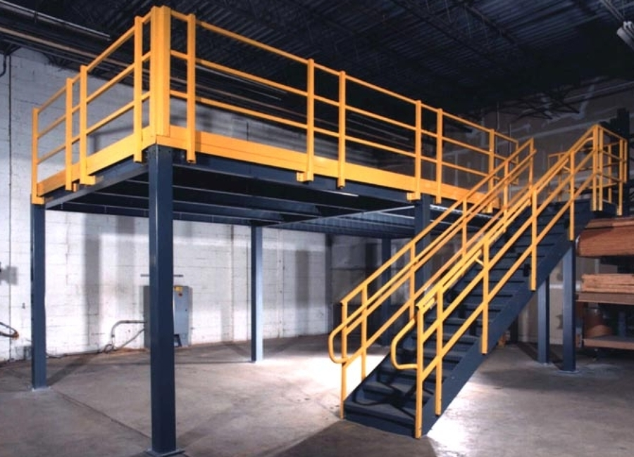 Foto mezzanine moderno de comercializadora de acero gwe 44359 habitissimo - Mezzanine foto ...