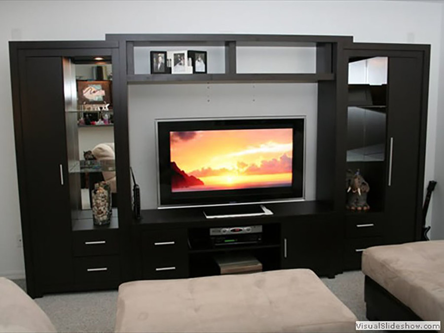 Foto Mueble de Tv Chocolate de Muebles Sobre Diseño #174529