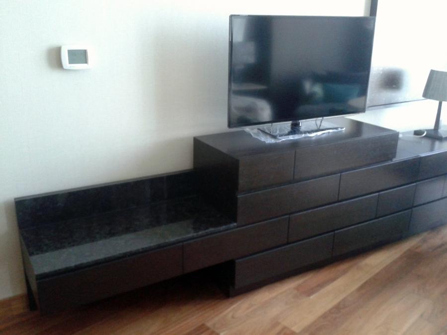 Foto mueble de tv para el hotel aqua live de doctor - Muebles tv online ...