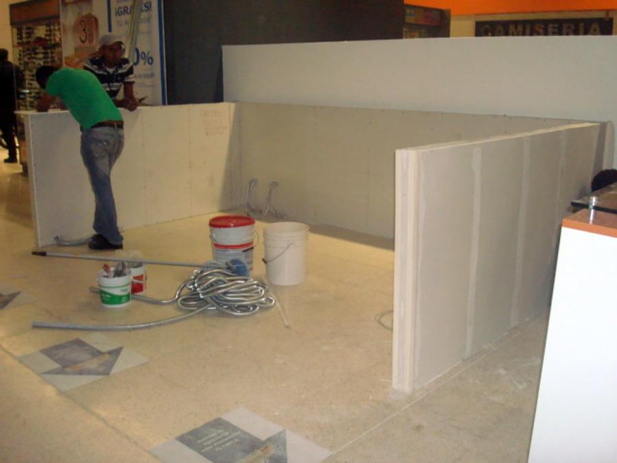 Muro con Panel de Tablaroca