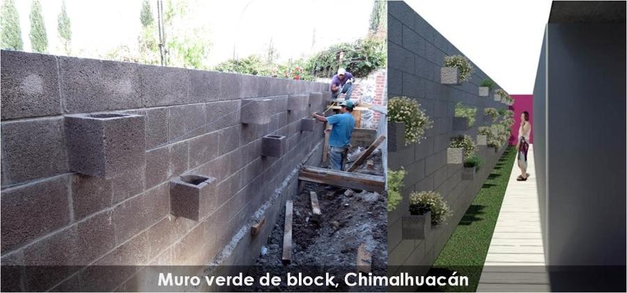Foto Muro Verde De Block De Lad Arquitectos 17184 Habitissimo