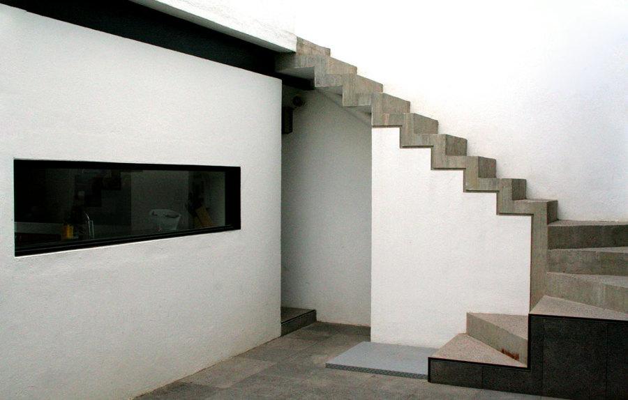 Foto escalera de concreto de ensamble arquitectura 34011 for Escaleras en concreto para casas