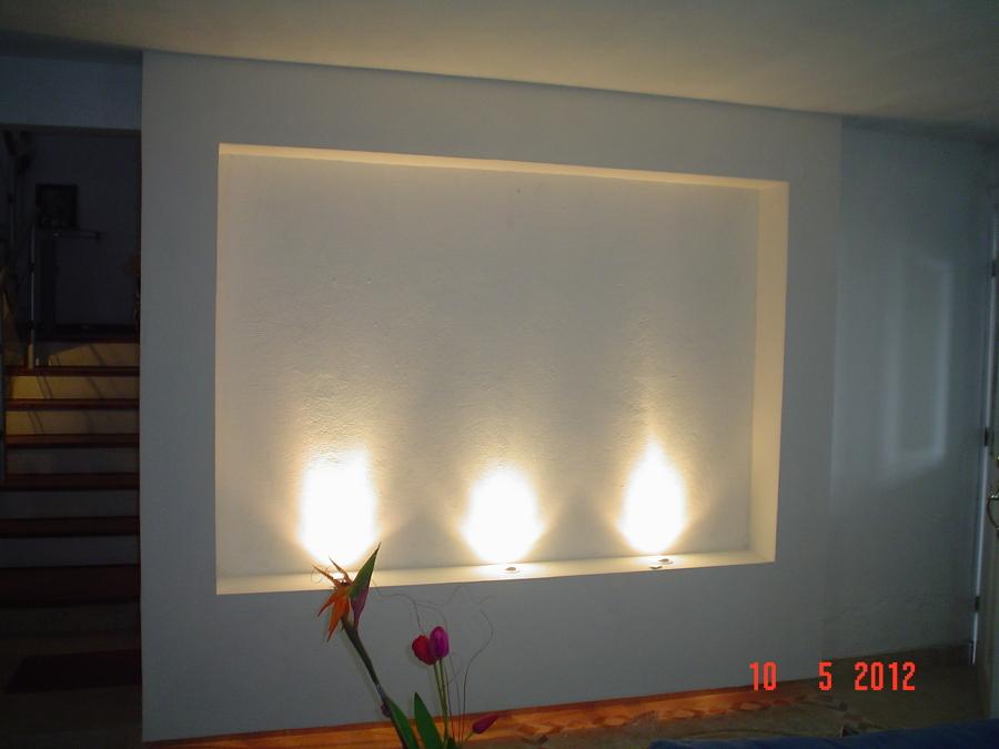Foto nicho con luz de tablaroca home design 72810 for Decoracion de techos con tablaroca