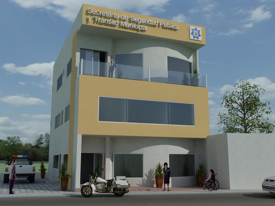Foto oficinas de policia y transito de dcm construccion for Oficina de policia
