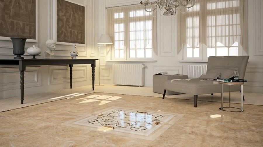 Foto cuidado de pisos marmol granito ceramico o for Casa de marmol y granito