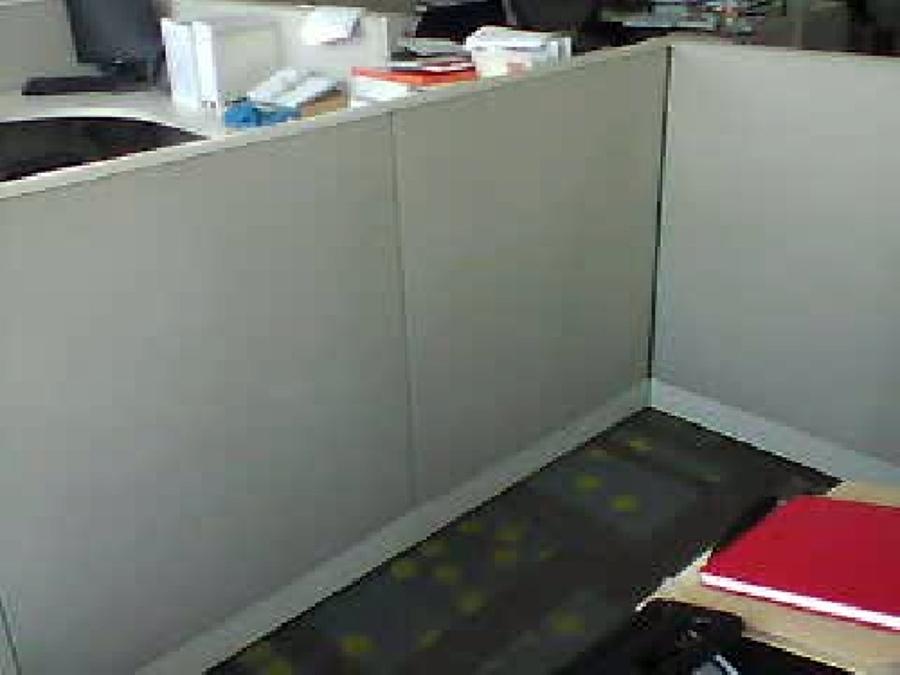 Panel antes de la limpieza