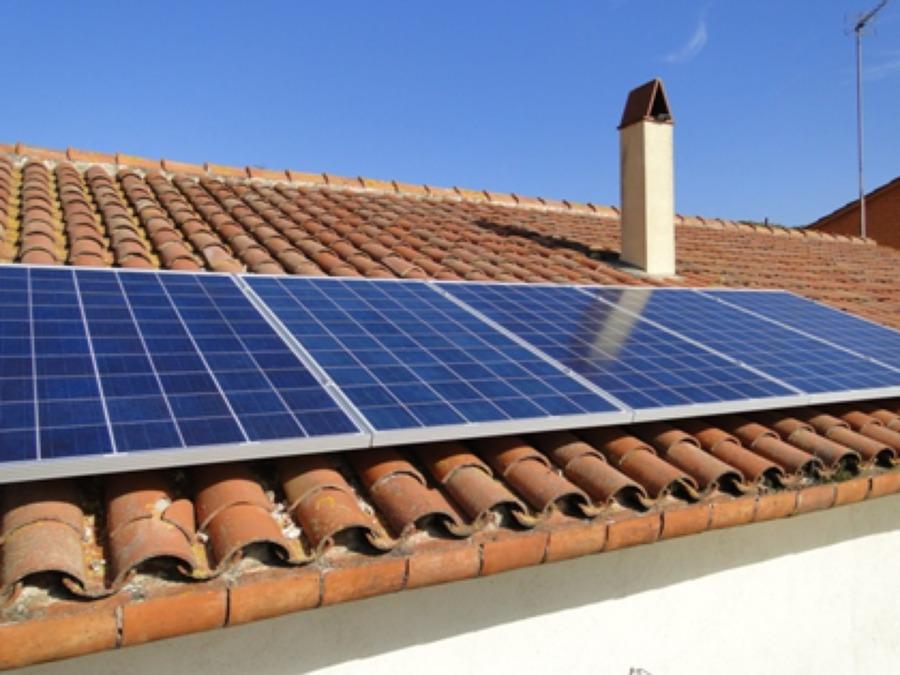 Foto paneles solares en casa habitacion de orto solar - Paneles solares para abastecer una casa ...