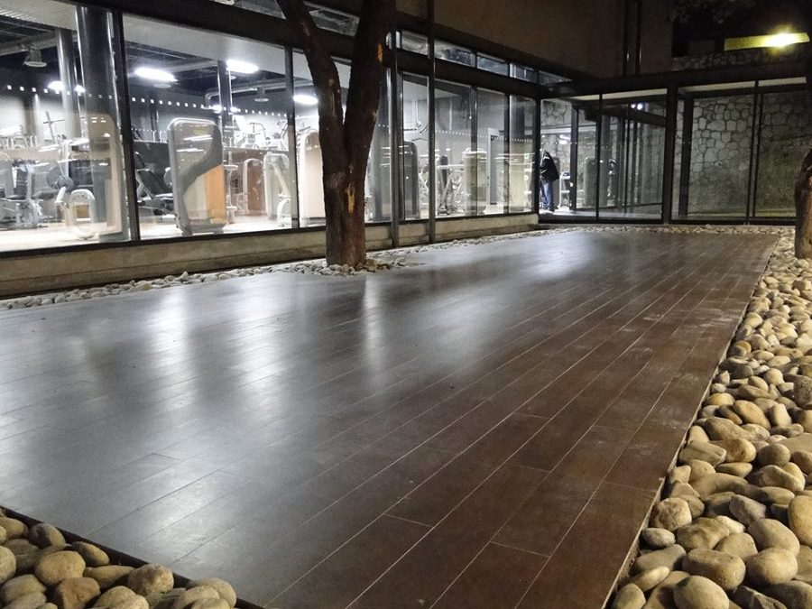 Patio central Gimnasio