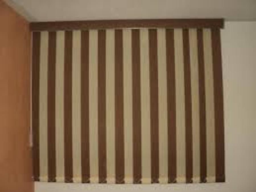 Foto persiana vertical tela de decoraciones macondo - Persianas de tela enrollables ...