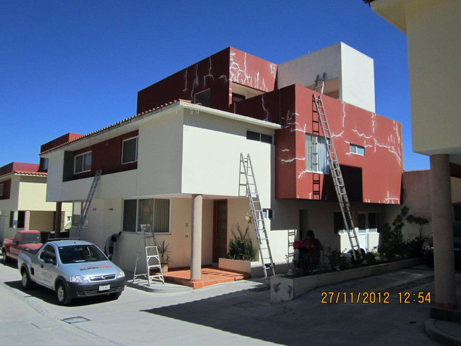 Pintura Casa Hábitación