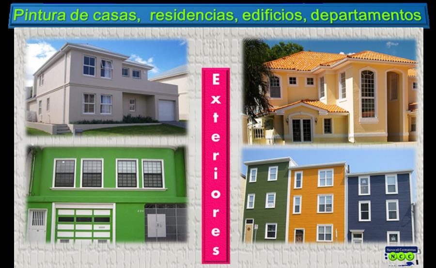Foto pintura de casas exteriores de nanocell contratistas - Pinturas para fachadas exteriores fotos ...