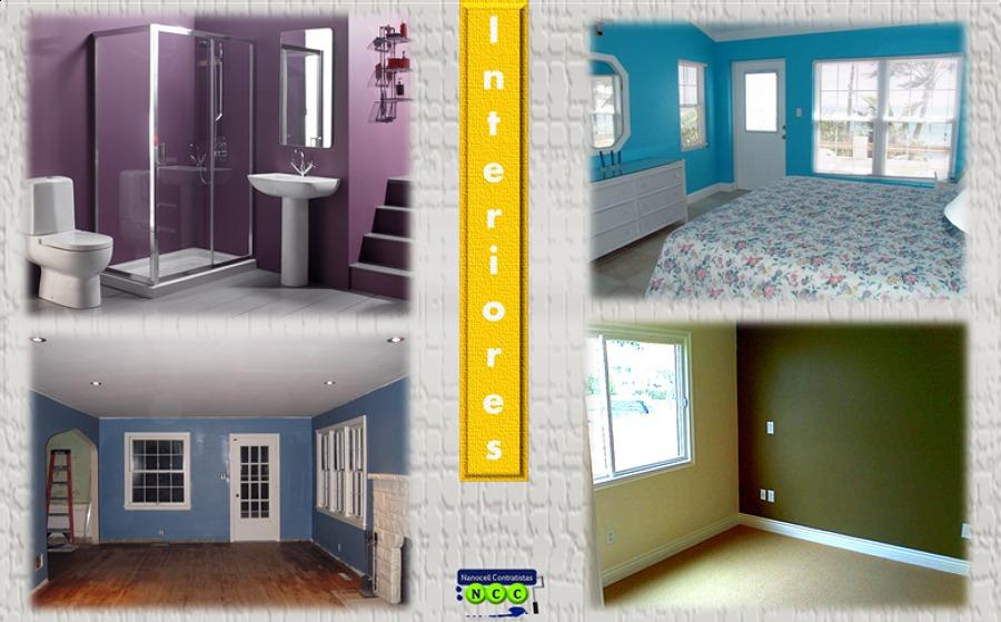 foto pintura de casas interiores de nanocell contratistas