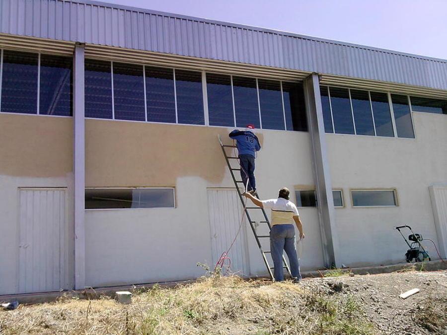 pintura exterior de alta calidad