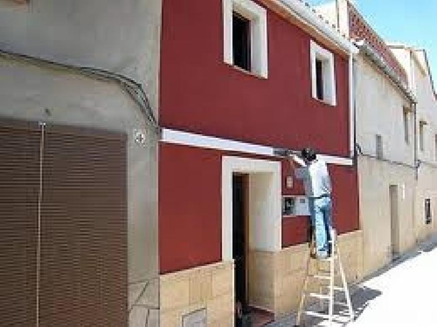 Pinturas para fachadas exteriores interesting pintor - Pintura exterior fachada ...
