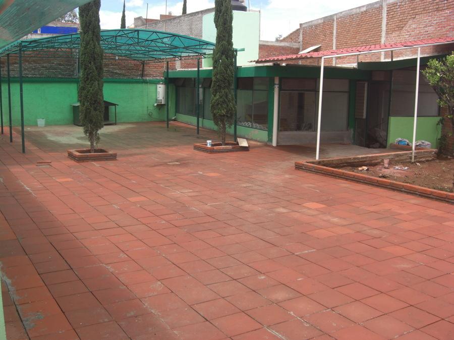 foto piso de loseta de barro de arquitectura y