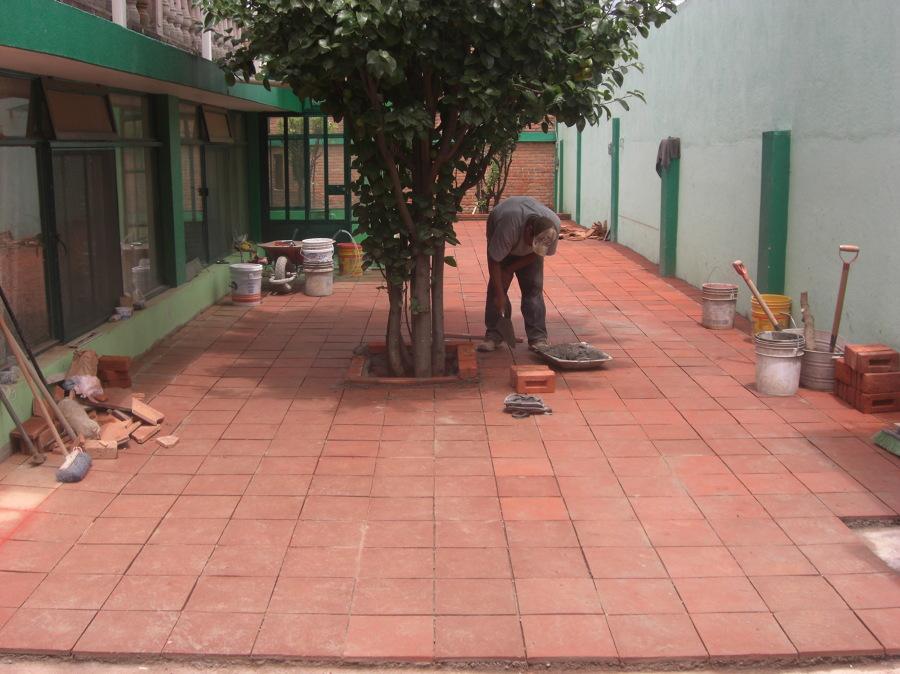 Losetas para jardin baldosas formas rectangulares camino - Loseta para jardin ...