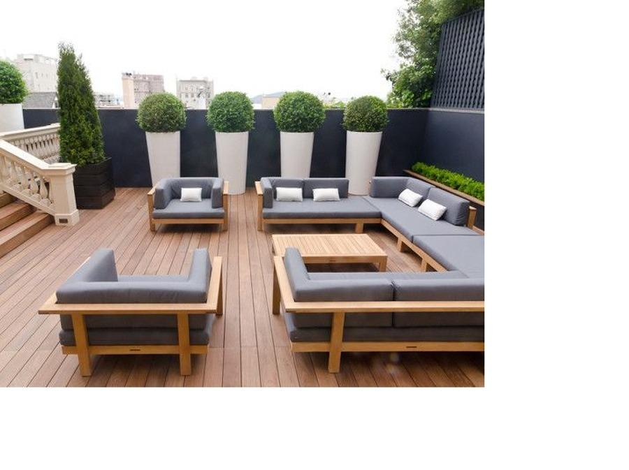 Foto: piso exterior roof garden y decoraciòn de renovacion y ...