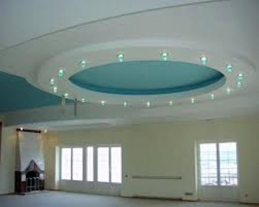Foto plafon con mr 16 de leds de star solar solutions sa for Plafones de pared modernos
