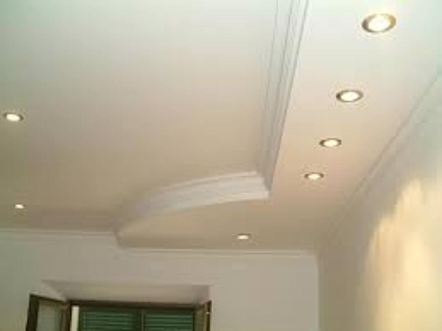 Foto plafon de tablaroca de remodelaciones y construccion for Plafones de pared modernos