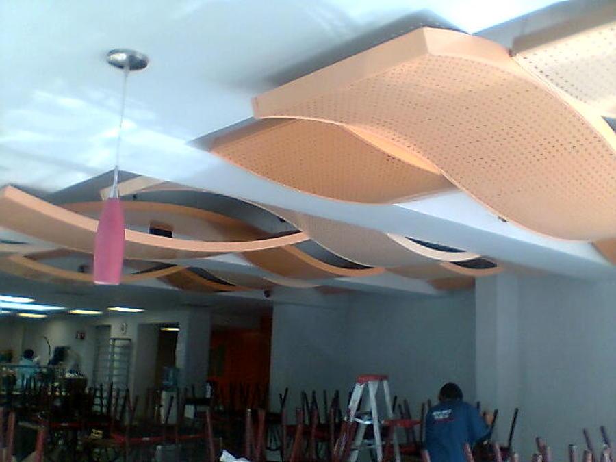 Foto plafon decorativo de jafc arquitectura 13439 for Plafones de pared modernos