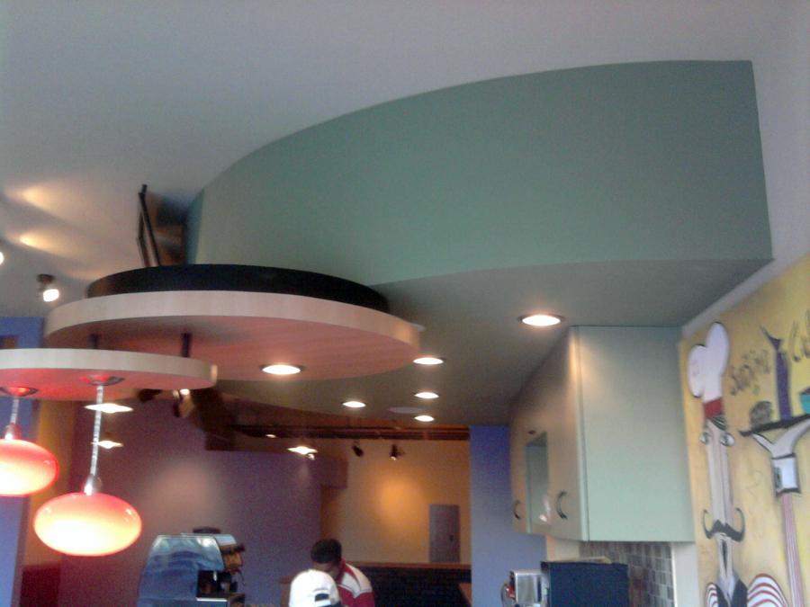Foto plafon de remodelaciones profesionales 4201 for Plafones decorativos pared