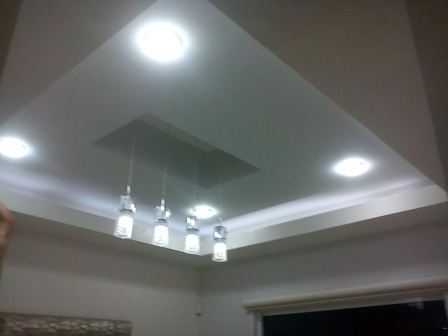 Foto plafon de remodelaciones profesionales 4221 for Techos de yeso modernos