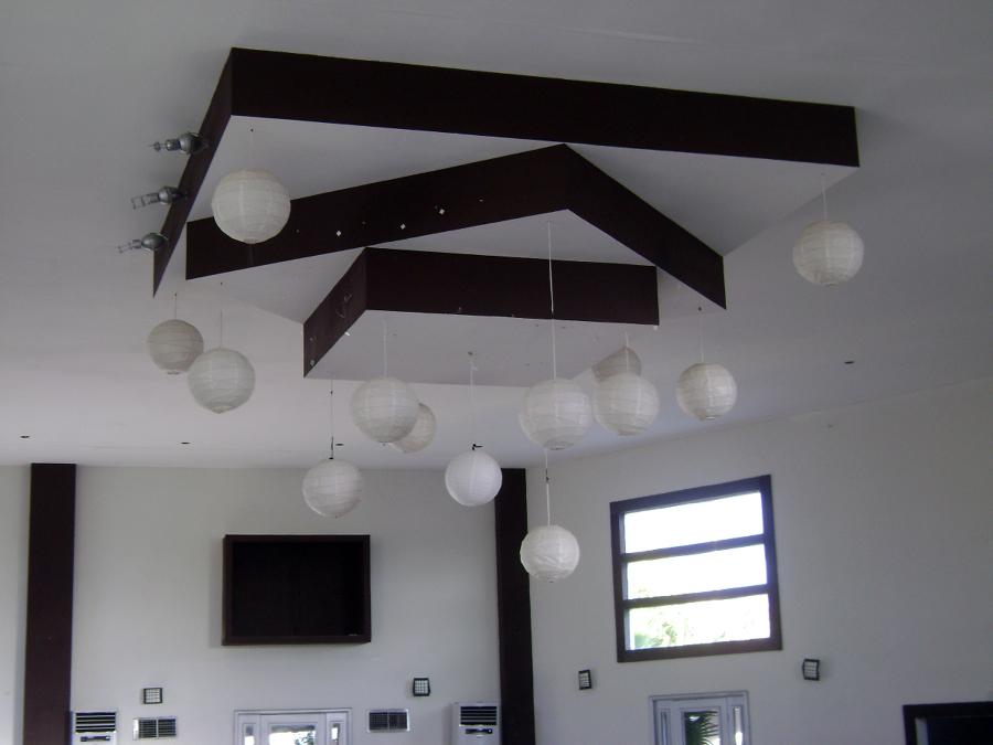 Foto plafon de remodelaciones profesionales 4231 for Plafones de pared para salon