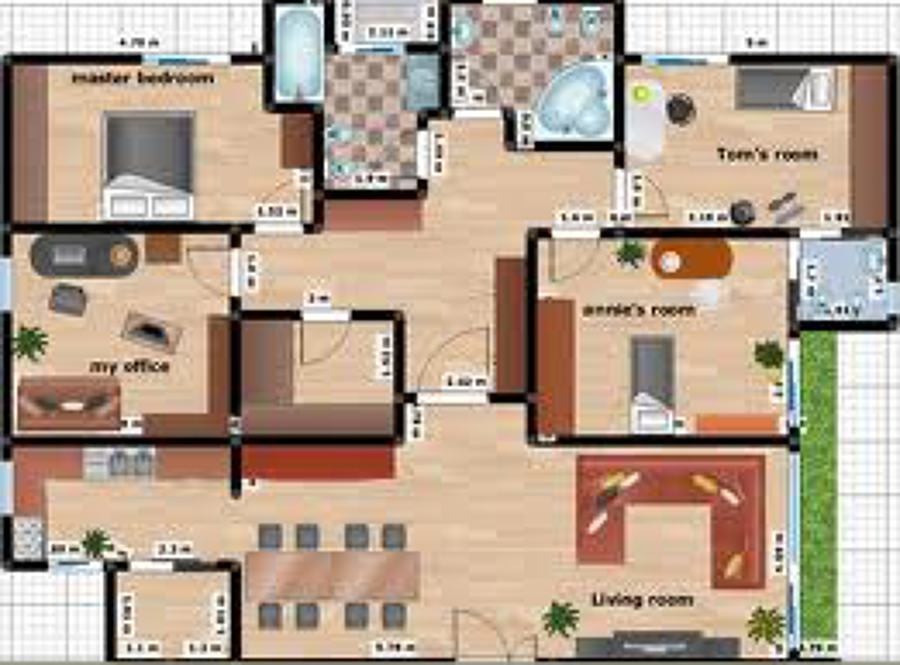 Foto planos arquitect nicos de plusvalia avaluos 26590 for Planos de oficinas modernas