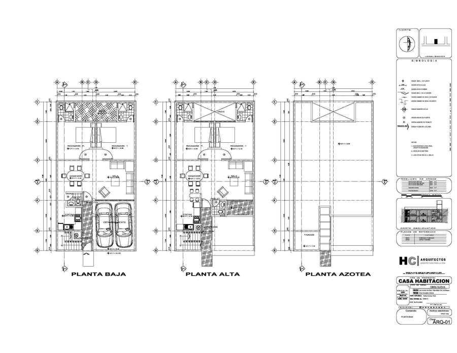 Foto planos arquitectonicos de arquitecto perito for Planos arquitectonicos de casa habitacion