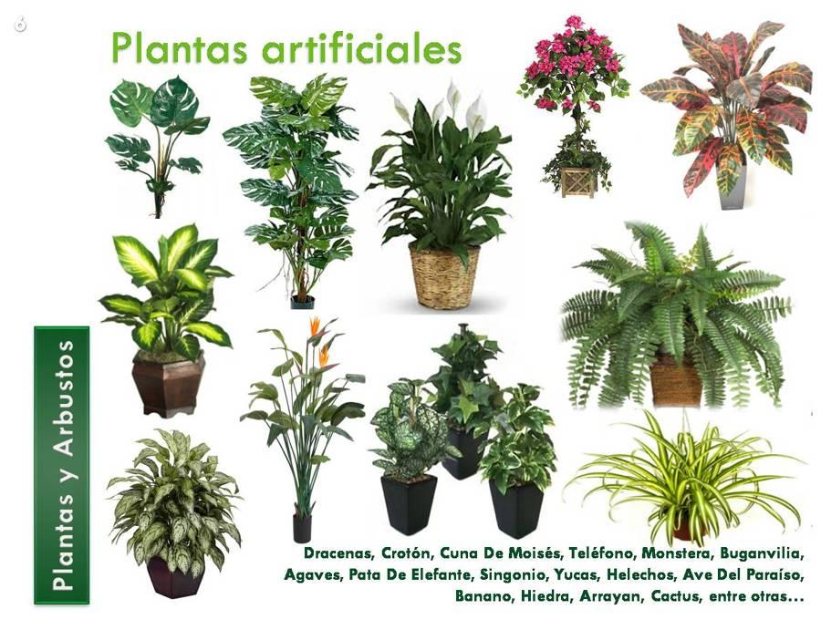 Foto plantas artificiales de decorklass plantas for Jardines con plantas artificiales