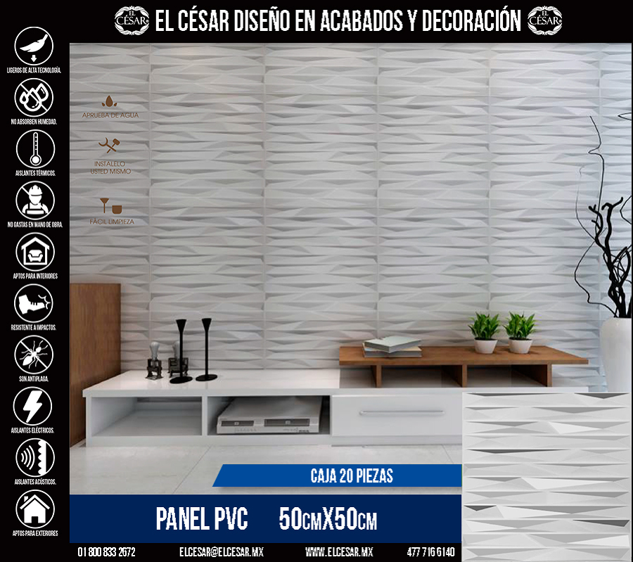Panel PVC Modelo 015