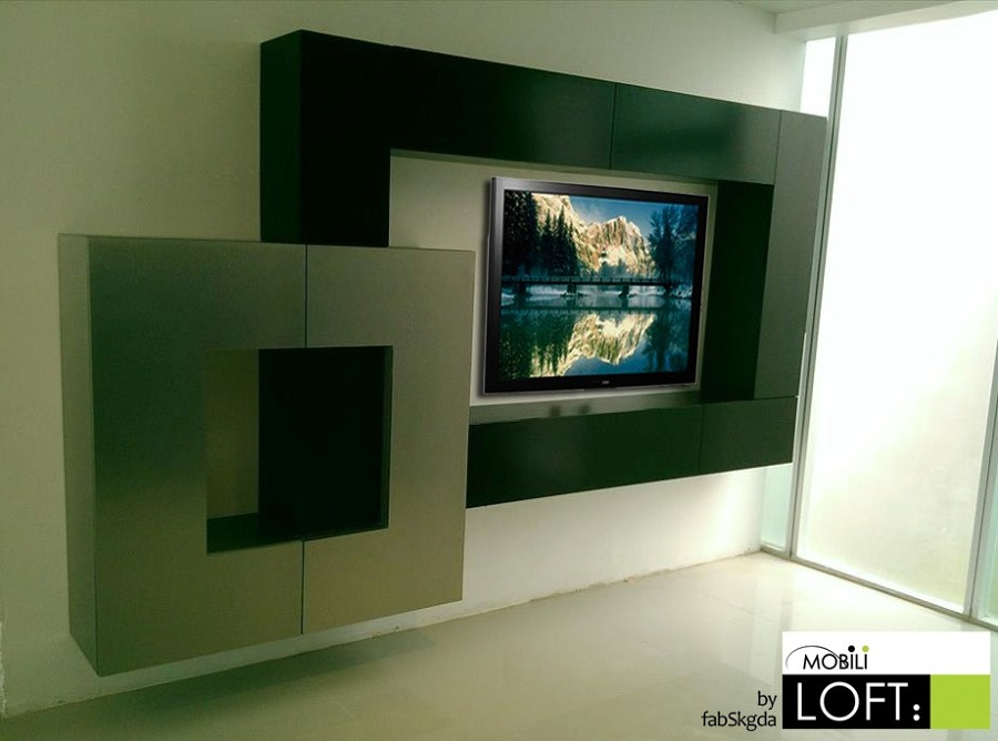 Foto porta pantalla de cocinas y closets del valle 67780 for Antecomedores modernos pequenos