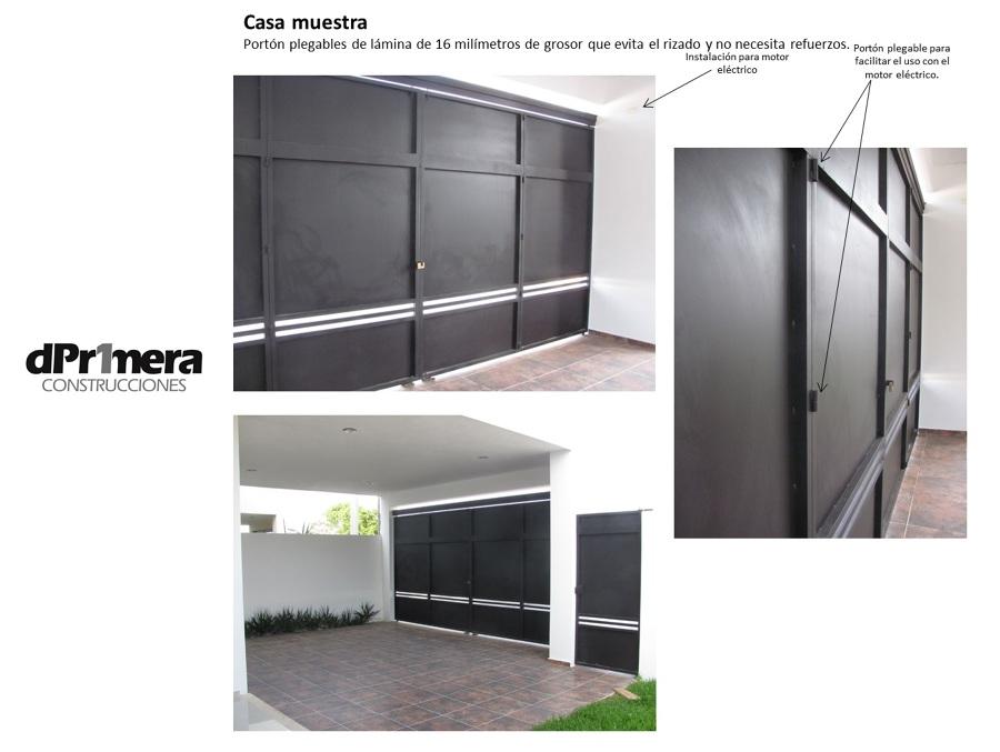 Foto port n incluido de deprimera construcciones 25353 for Construcciones minimalistas fotos
