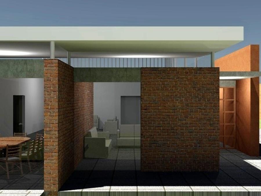 Foto proyecto casa habitaci n de ortiz monasterio for Proyecto casa habitacion minimalista