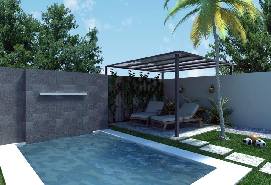 Foto proyecto en chul l de piscinas m rida 60806 for Construccion de piscinas merida