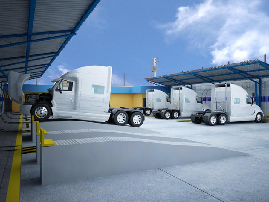 Proyecto Lavado de Camiones