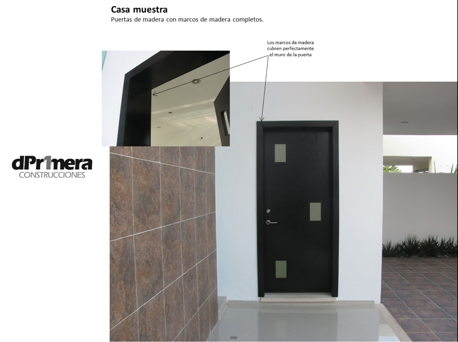 Foto puertas y marcos de madera de deprimera construcciones 25356 habitissimo - Marcos de puertas de madera ...