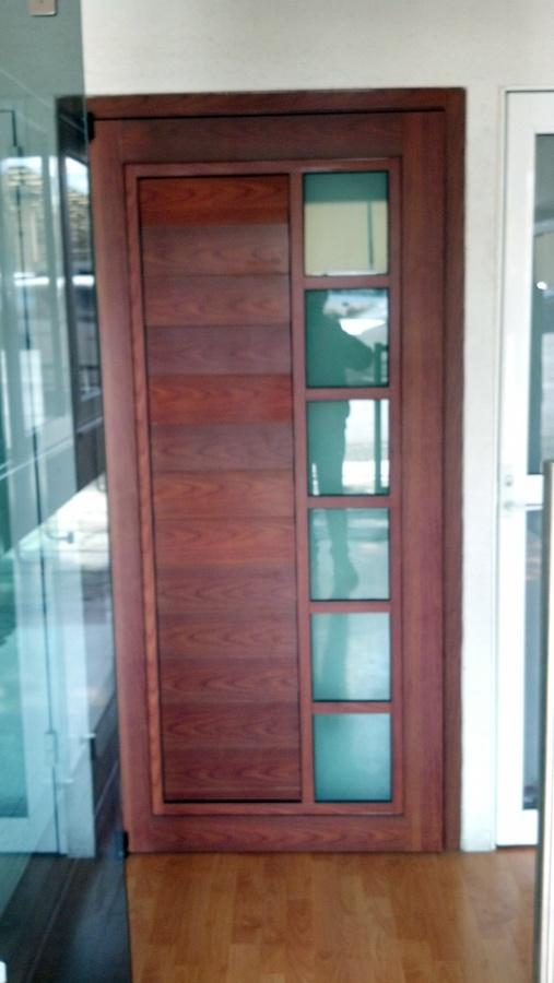 Foto puertas de aluminio y vidrios 18893 habitissimo - Puertas de aluminio fotos ...
