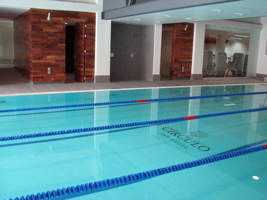 Foto remodealcion piscina semiolimpica mexico df de for Construccion de piscinas en mexico