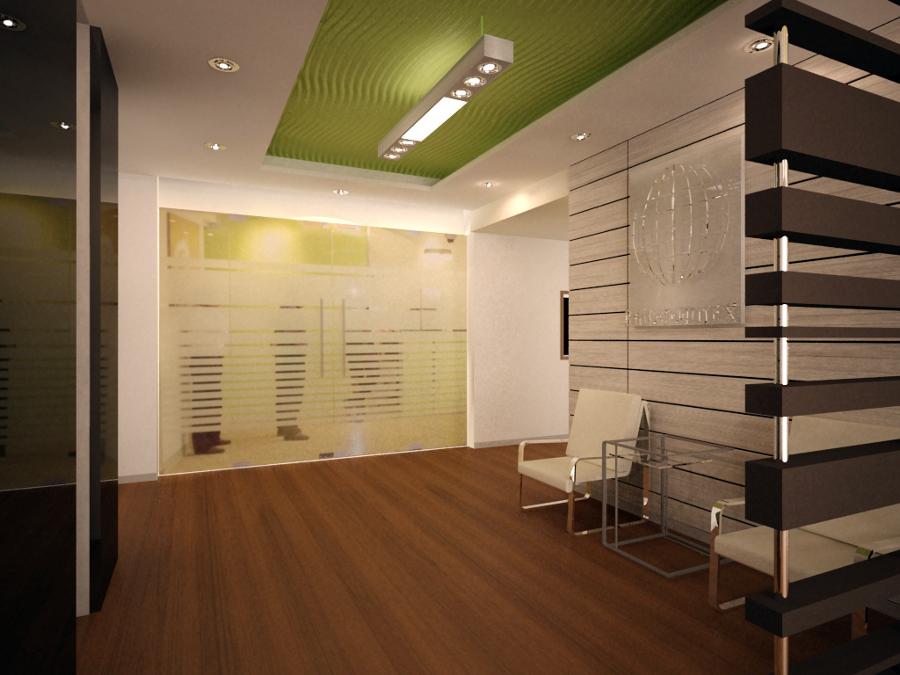 Foto remodelaci n oficina de perceptiva estudio de for Decoracion despacho abogados moderno