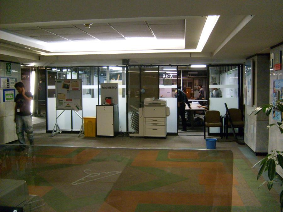 Foto remodelacion oficinas centrales nestle mexico de for Remodelacion oficinas