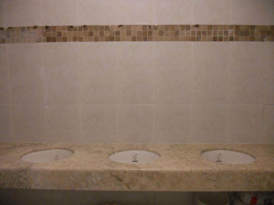remozamiento en baños