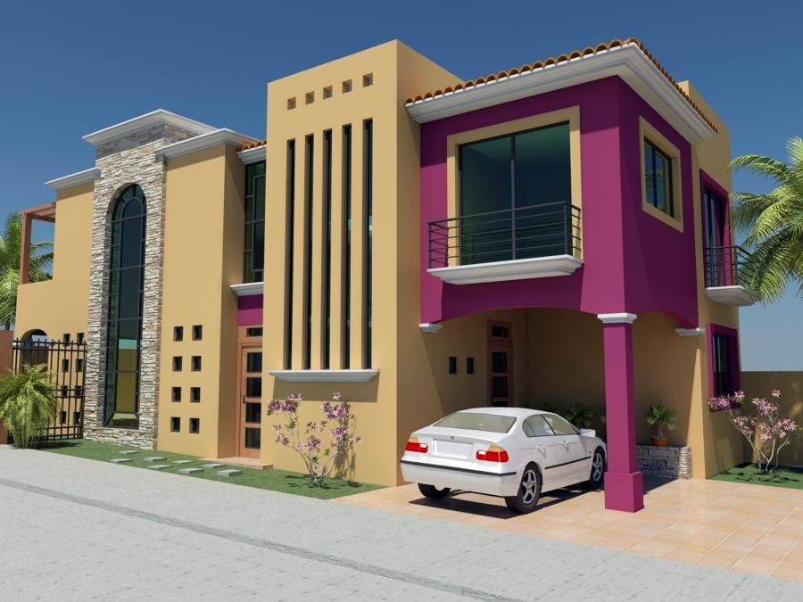 Foto render casa monteverde de aguirre arquitectos 21448 for Render casa minimalista