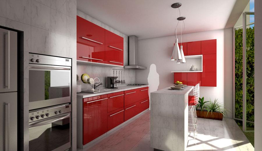 Foto: Render Diseño Cocina de Mentalgraphics #27848 - Habitissimo