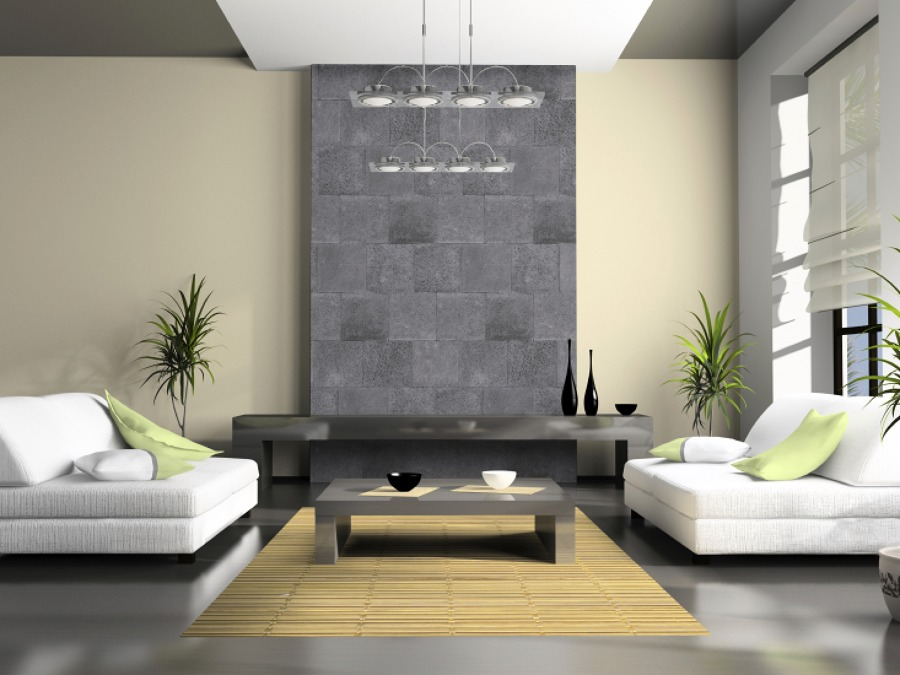 Foto salas de la marmolera 7846 habitissimo - Decoracion muros interiores ...