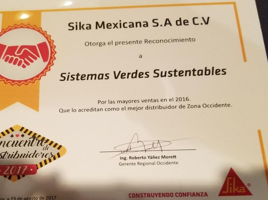 El mejor distribuidor de productos sika 2016-2017