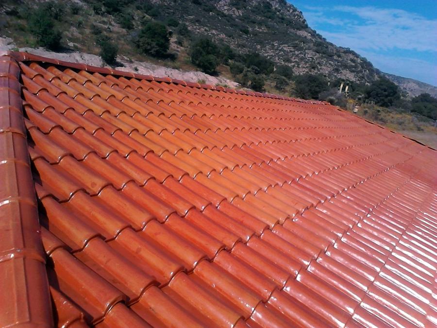 foto techo en nuestra lamina a tejas de lamine de m xico
