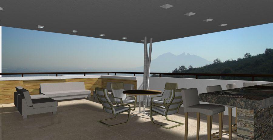 Foto terraza en azotea de victor quintanilla arquitectura - Terrazas de diseno fotos ...